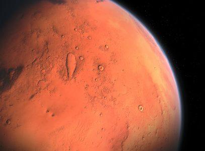 Acqua: tesoro di Marte