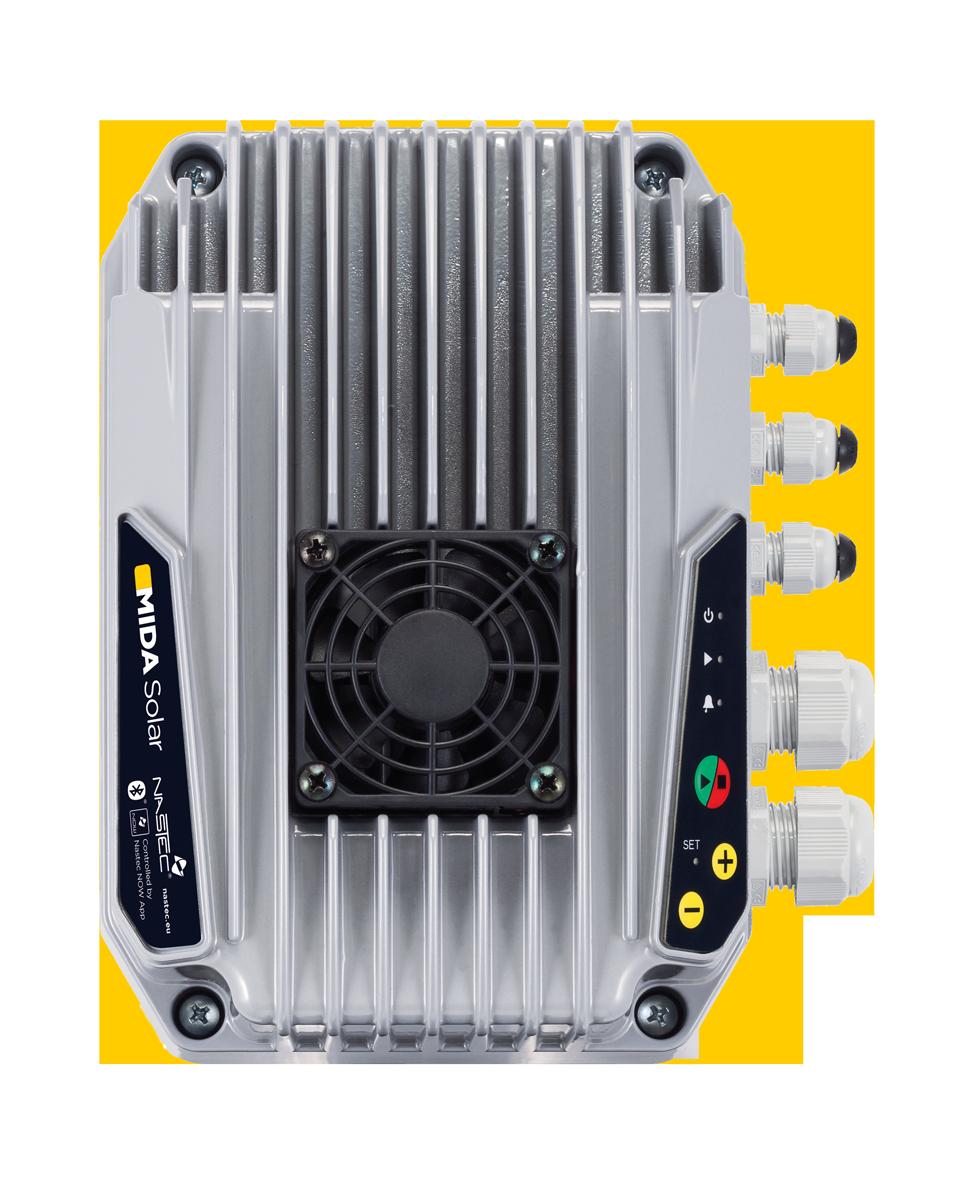 Nastec MIDA Solar | Next generation of solar pumping inverter