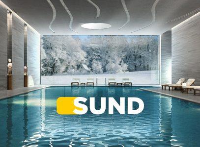 SUND, the solar pool pump even in winter