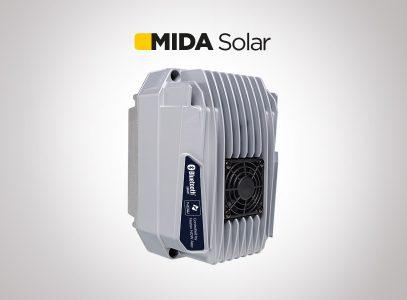 MIDA Solar MP garantit le fonctionnement de la pompe à tout moment de la journée