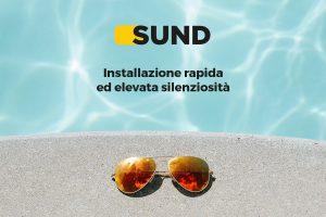 SUND pompa da piscina a energia solare