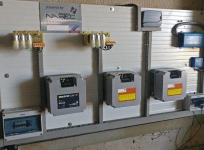 VASCO Solar – VAriable Speed COntroller Nastec